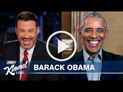 President Obama is Scared of Sasha and Roasts Donald Trump
