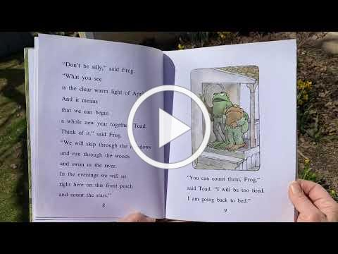 """Story Corner 3/23/21: """"Frog and Toad are Friends"""""""