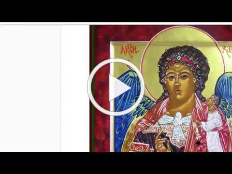Icon Visit with Archangel Raphael