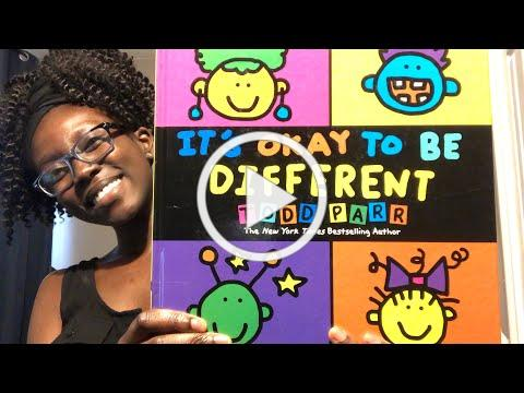 Bedtime with Clio - It's Okay to Be Different by Todd Parr