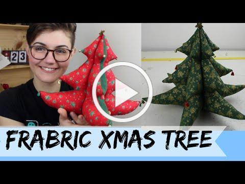 DIY: Fabric Xmas Tree