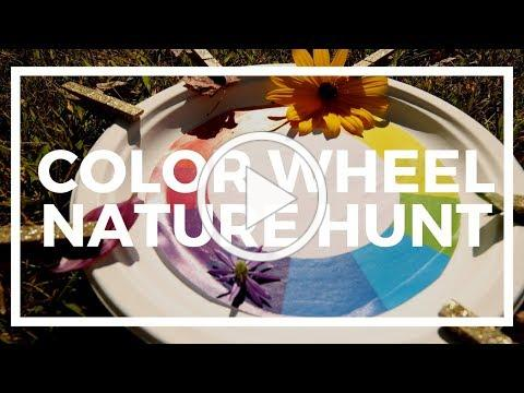 Color Wheel Nature Hunt | Kaplan Early Learning Company