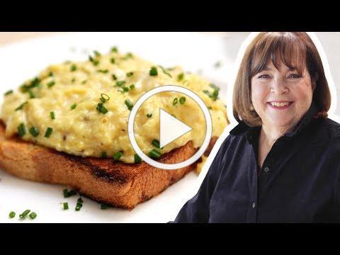 Ina Garten Makes Perfect Scrambled Eggs | Food Network