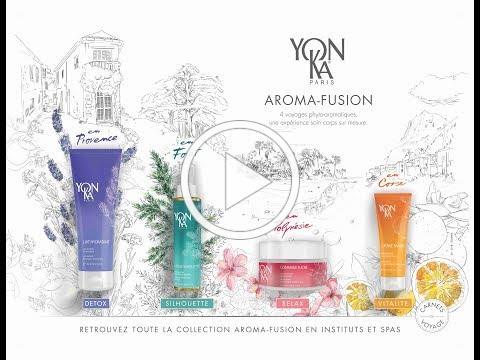 AROMA-FUSION, la nouvelle collection corps Yon-Ka