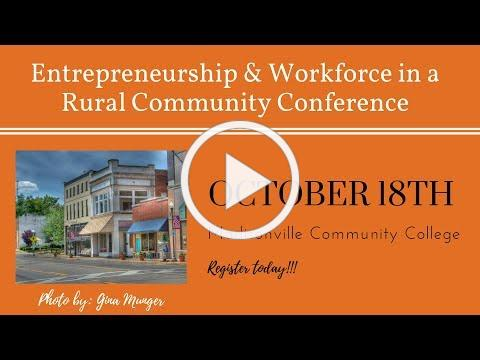 Workforce & Entrepreneurship in a Rural Community Conference