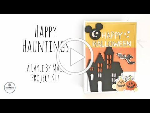 Happy Hauntings Project Kit - Layle By Mail