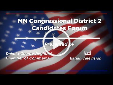 MN Congressional District 2 Candidates Forum
