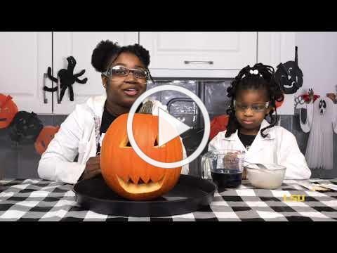 LSU ChemDemo- Erupting Pumpkin
