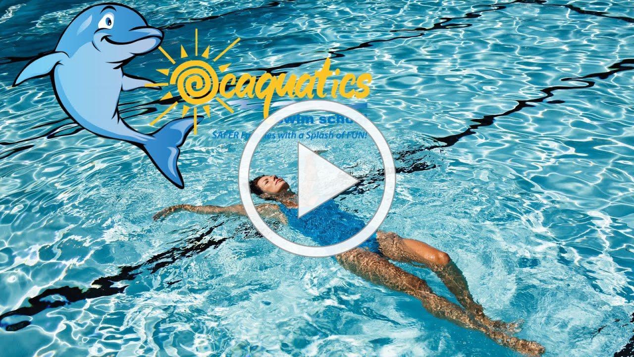 Back Floating Progressions/ Starfish- Ocaquatics Online School Day 17
