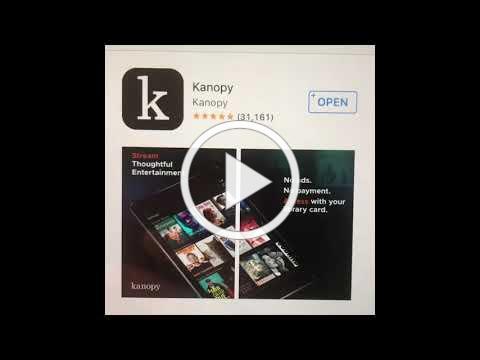 Using Kanopy