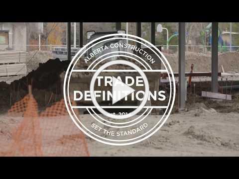 2018 Alberta Construction Trade Definitions