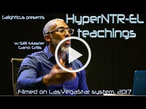 HyperNTR-EL teachings w/SRI Master Gano Grills. Subscribe now.