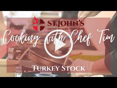 Cooking with Chef Tim - Turkey Stock | Christmas at St. John's