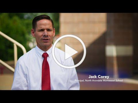 Meet Jack Corey, the new principal at North Avondale Montessori School.