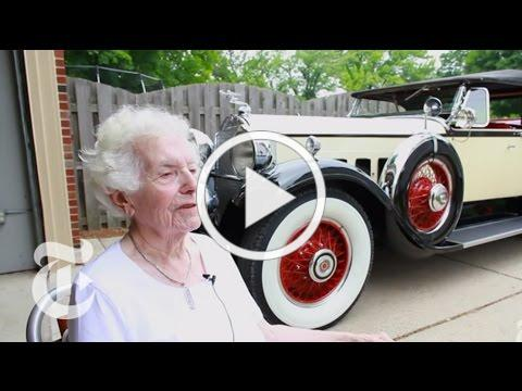 Two Classics, One Car: A Collector Shows Off Her Lifelong Favorite | The New York Times