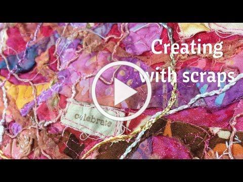 Using My Scraps to Create New Fabric