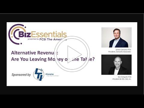 BizEssentials: Alternative Revenue: Are You Leaving Money on the Table?