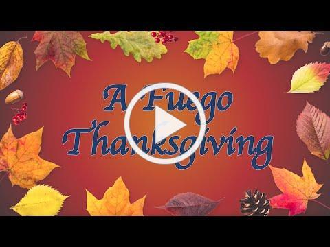 A Fuego Thanksgiving