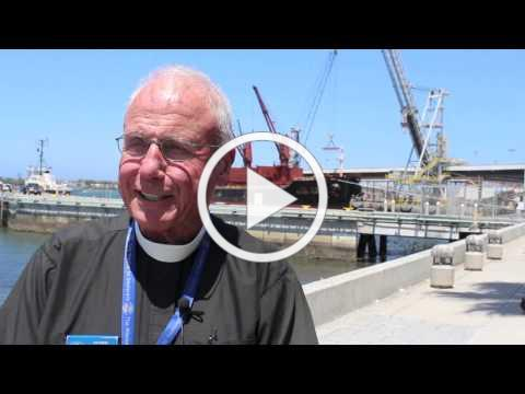 Rev. Robert Crafts, M.D., on mission to seafarers