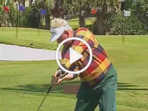 Moe Norman shows his Master Move, Vertical Drop, Coin Drill. Golf swing instruction