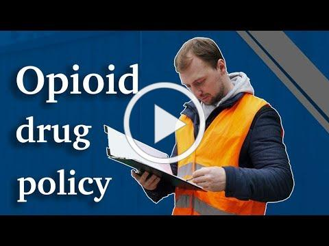 Opioid Drug Policy to Protect the Workplace