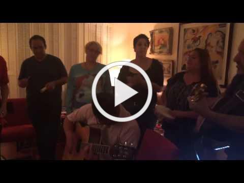 CAT choir sings