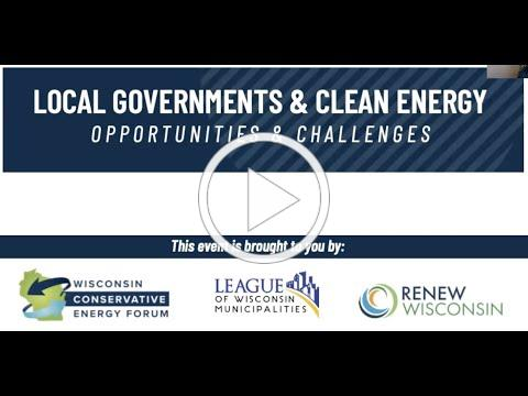 Local Governments and Clean Energy