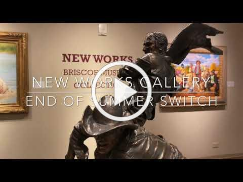 New Works Gallery Switch out August 2020
