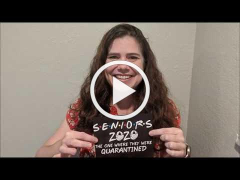 Congratulations Senior Class of 2020 - A Message From Mayor Haehn, City Council and City Manager