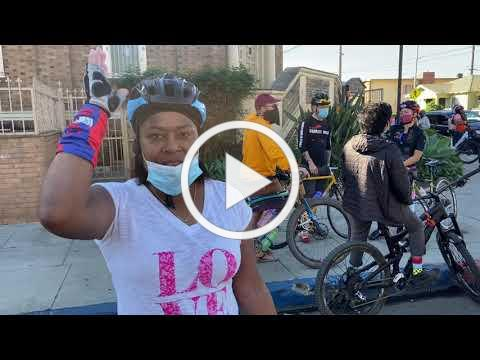 SBC King Day and Covid Testing 'American needs Healing' with Inner city cycle connection