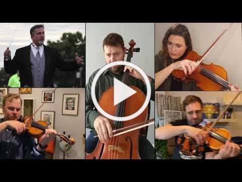 Nimrod (Elgar)- DAHS Alumi string quartet tribute to David Diehl