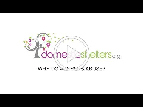 Why Do Abusers Abuse?
