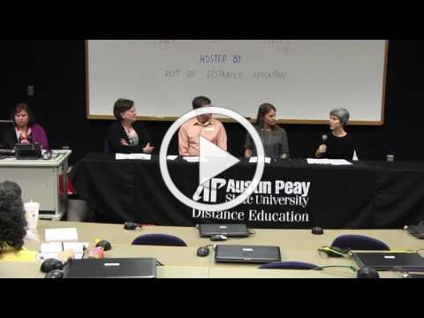 APSU Faculty Panel: Alternative Assessment Panel