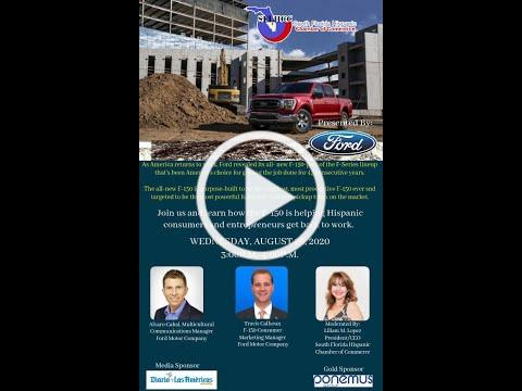 SFLHCC Ford F-150 Tough for Latino Business Webinar