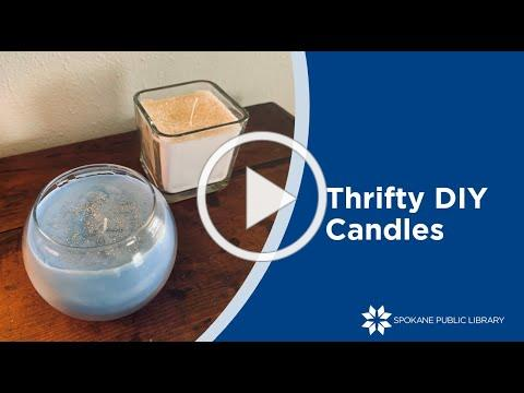 Thrifty DIY Candles