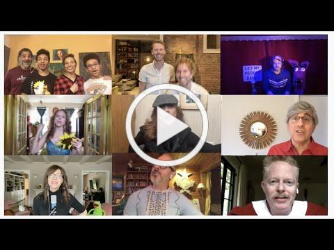 """Andrea McArdle, Ana Gasteyer, Mo Rocca, Sarah Jessica Parker and more sing """"Tomorrow"""". Together."""
