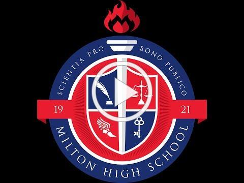 Milton High School Graduation: 2020