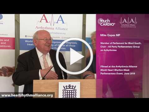 Arrhythmia Alliance World Heart Rhythm Week 2019 - Parliamentary Event, Westminster