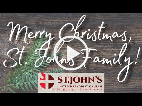 Merry Christmas, St John's Family!