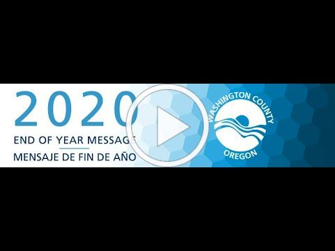 2020 End of Year Message