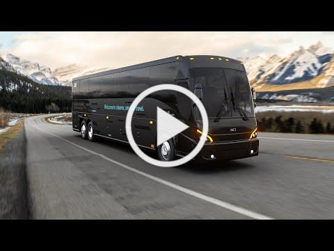 MCI unveils its first zero-emission luxury coach - the J4500 CHARGE™