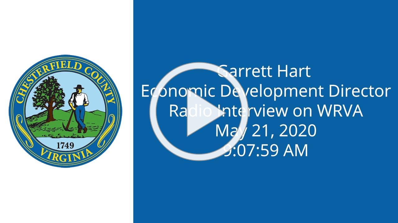Garrett Hart WRVA Interview