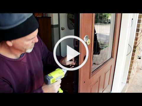 Door Installation Video by Marshall Roofing Northern Virginia and Maryland