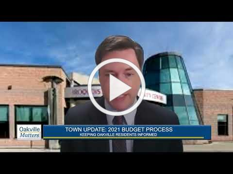 Oakville Matters - 2021 Budget Process