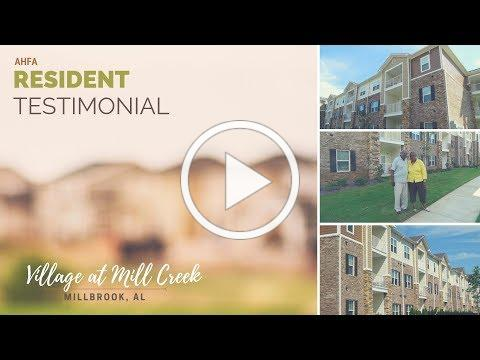 Resident Testimonial: Village at Mill Creek, Millbrook