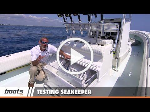Testing Seakeeper: Gyroscopic Stabilization for Boats