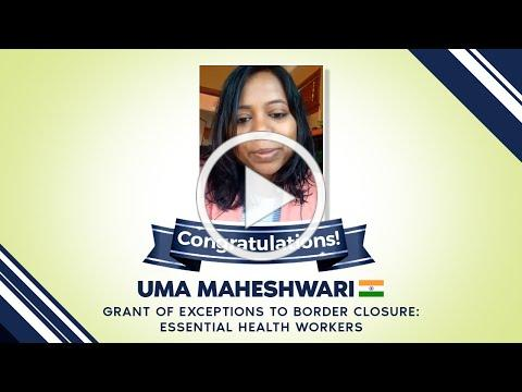 Client Testimonial- Uma Maheshwari