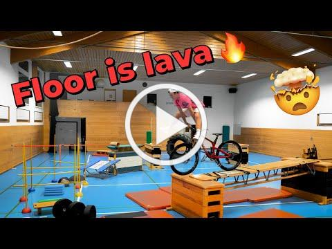Floor is Lava obstacle course! *Next Level*