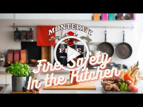 """Fire Prevention Week with Monterey Firefighters: """"Serve up fire safety in the kitchen!"""""""