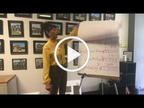 SouthFair CDC Homebuyer Informational Video: Affordability Calculation - Session 3